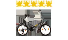 bici pieghevole scelta preferita