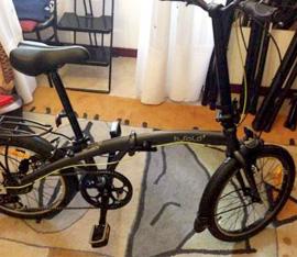 mini-bici pieghevole